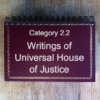 2.2 Writings of Universal House of Justice