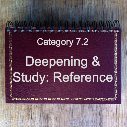 7.2 Deepening & Study: Reference
