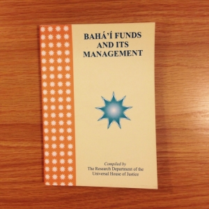 Baha'i Funds and its Management