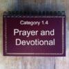 1.4 Prayer & Devotional Books
