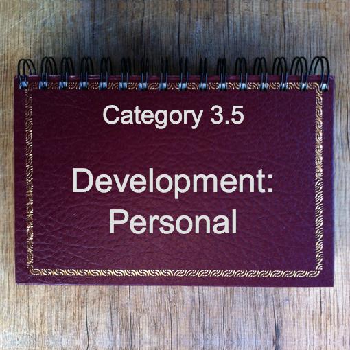 3.5 Development: Personal
