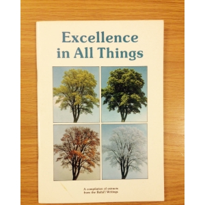 Excellence in All Things