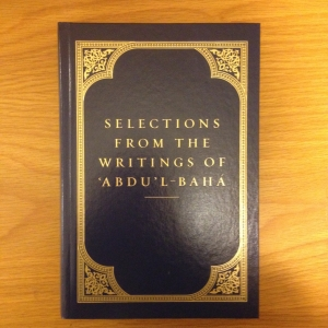Selections from the Writings of Abdu'l-Baha, Hardback