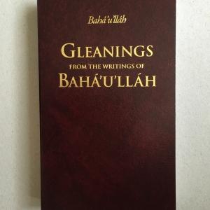 Gleaning from the writing of Bahá'u'lláh